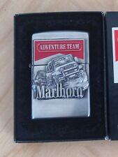 Rare Vintage Japan Zippo Lighter - Marlboro Adventure Jeep - 1998
