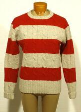 women's POLO RALPH LAUREN sweater wool cable-knit MEDIUM