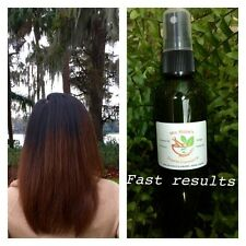 Organic Coconut Oil infused with Ginseng, Ginkgo, Rosemary, and Lavender 4oz
