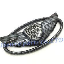 Luxury Carbon Hyundai Genesis Veloster Coupe Fiber Wing Front Rear Emblem Badge