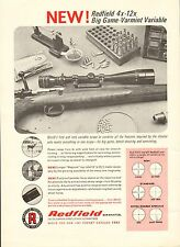 Vintage '67 ad 522 for Redfield 4 x-12 Big Game-Varmint Variable - ad only