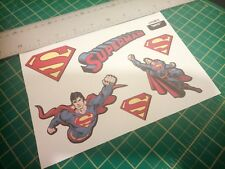 Superman sticker set.