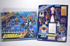 TAKARA Vintage Microman Micro Robot 7 7-2-1 Formation Figure Transformers Japan