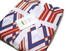 Pottery Barn Multi Colors Becks Geo Shape Cotton King Cal King Duvet Cover New