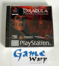 Dracula 2: L'ultimo santuario (PS1) - ITA - NUOVO - SIGILLATO - PRIMA STAMPA