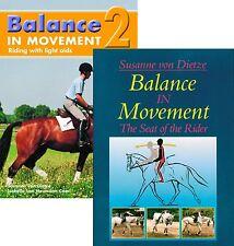 Balance in Movement Part 1 & 2 by Susanne von Dietze - BRAND NEW DVD Set