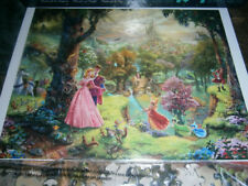 Ceaco Thomas Kinkade Disney 500 Piece Jigsaw Puzzle Sleeping Beauty, Aurora