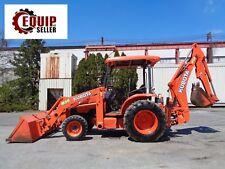 Kubota M59 4x4 Backhoe Loader Tractor- Diesel - Low hours