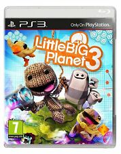 NUOVO E SIGILLATO! Little Big Planet 3 SONY PLAYSTATION PS3 Gioco