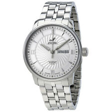 Enicar Seapearl Silver Dial Automatic Mens Watch 3168/50/351AA