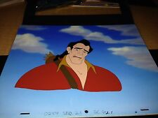 Disney's Gaston Beauty and the Beast Production Backgrd GREAT DEAL!
