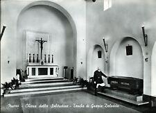 """"""" NUORO : Chiesa della solitudine :Tomba di Grazia Deledda """"  Periodo Anni 60"""