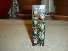 Valley People MAXI-Q, 3 Band Parametric Equalizer, Eq for TR804, Vintage Unit