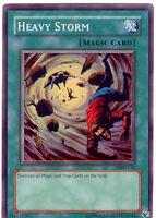 YuGiOh Card - Heavy Storm MRD-E142 Super Rare