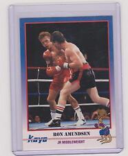 1991 KAYO RON AMUNDSEN BOXING CARD #97 ~ CHICAGO IL