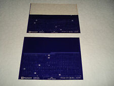 PEUGEOT J5, TALBOT EXPRESS piezas Microficha Juego Completo de 2 junio 2001
