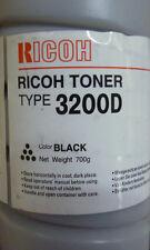 RICOH  TYPE 3200D  885060  - TONER ORIGINALE NERO AFICIO  NEW