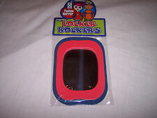 Magnetic Locker Rockers, Fashion Mirror For Your Locker,Red & blue