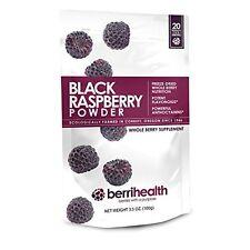 BerriHealths 100 Gram Black Raspberry Powder Super Food Best Gift New