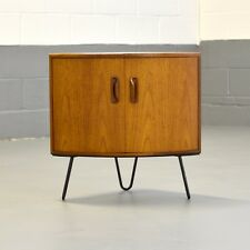 Retro Mid Century G Plan Scandinavian Corner Cabinet Unit Hairpin Legs
