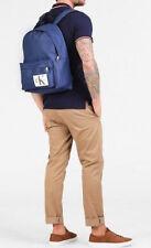 Calvin Klein 2018 Ck Medium Round Sport Laptop Blue Backpack Work Gym Travel Bag