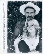 Actors Rock Hudson Teri Copley in The Star Maker Press Photo