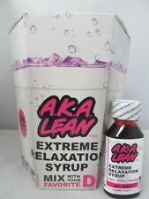 AKA Lean Extreme Relaxation Lean Syrup 2 oz 12 bottles box