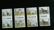 GB U/M COMMEMORATIVE STAMP TRAFFIC LIGHT GUTTER PAIRS - DOGS - 7.2.79