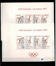 / 10X MONACO - MNH - SPORTS - OLYMPICS - USA 1984