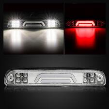 For 93-11 Ford Ranger Rear Mount 3D LED Tube Third Brake/3rd Stop Light Chrome