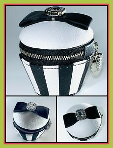 Brighton My Flat in LONDON Leather Cupcake Jewelry Case Coin Purse NWT