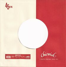 CHISWICK,  Company Reproduction Record Sleeves - (pack of 15]