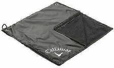 Callaway Rain Combination Bag Hood and Towel - Black