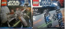 2x LEGO Star Wars Classic X-Wing vs. Tie Jäger 8028 30051