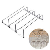 3Row Kitchen Wine Champagne Stemware Glass Cup Rack Holder Bar Wall Mount Hanger