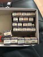 Tung-Sol Electronic Television Radio Vintage Audio NOS AMP Stereo Vacuum Tubes