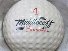 (1) CARY MIDDLECOFF SIGNATURE LOGO GOLF BALL (CIR 1960 #4 PERSONAL VULCANIZED)