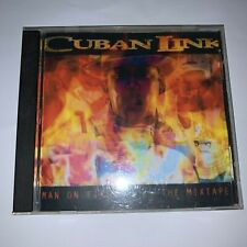 RARE! Cuban Link Man On Fire Hosted by DJ Dazon NY Rap Mixtape Mix CD