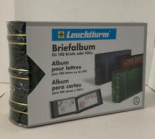 LEUCHTTURM, Briefalbum C6, grün, neu