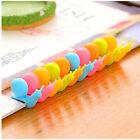 5Pcs Exquisite Snail Shape Silicone Tea Bag Holder Cup Mug Candy Colors Cute HG