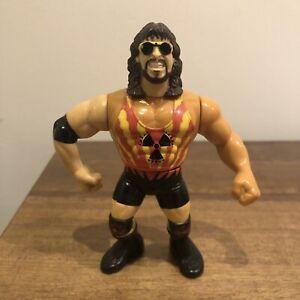 WWF/WWE Adam Bomb Vintage Hasbro Action Figure 1994 Series 10 Please Read