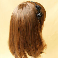 Gothic Halloween Spider Web Floral Headband Cosplay Hair band Masquerade Party