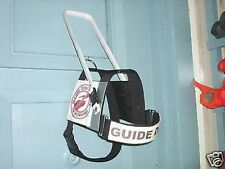 GUIDE DOG HARNESS SERVICE DOG ASSISTANCE DOG THERAPY CUSTOM MADE SIZE TEXT ETC