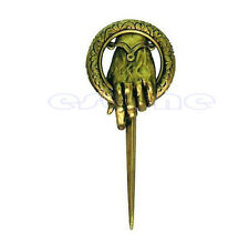 For Game of thrones hand of the king Lapel Replica Vintage costume pin brooch