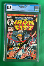 Marvel Premiere #15 CGC 8.5 White Pages, Origin and First Appearance Iron Fist