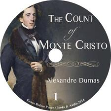 The Count of Monte Cristo Adventure Audiobook by Alexandre Dumas on 2 MP3 CDs