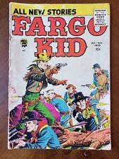 Prize Comics FARGO KID #5 Oct Nov 1958 vintage western comic