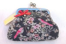 A New Pretty Bird & Floral Glitter Coin Clasp Purse by Accessorize/Monsoon