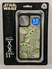 Disney D-Tech The Mandalorian Baby Yoda iPhone 11  Pro X Xs Phone Case