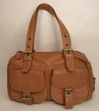 TOMMY AND KATE BROWN LEATHER BAG HANDBAG